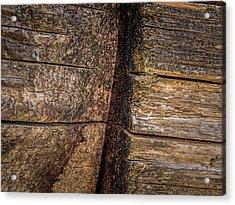 Wooden Wall Acrylic Print