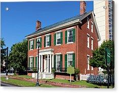 Woodrow Wilson Boyhood Home - Augusta Ga 3 Acrylic Print