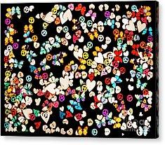 Woodstock Decorated Acrylic Print