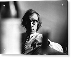 Woody Allen Acrylic Print by Evening Standard