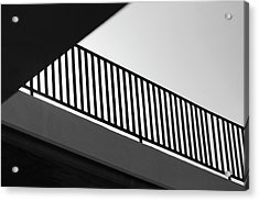 Acrylic Print featuring the photograph Working All The Angles by Lora Lee Chapman