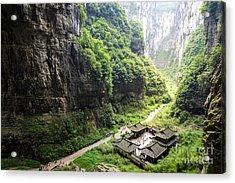 Wulong National Park, Chongqing, China Acrylic Print