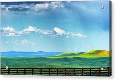 Wyoming Vast Landscape  Acrylic Print