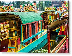 Xochimilco, Mexico City Acrylic Print
