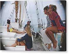 Yachting In Lyford Cay Acrylic Print