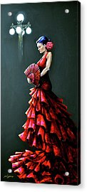 Ybor Beauty Acrylic Print