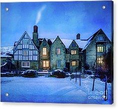 Ye Olde Manor Acrylic Print