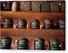 Ye Olde Time Pharmaceuticals Acrylic Print
