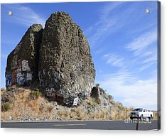 Yeager Rock - A Glacial Erratic Acrylic Print
