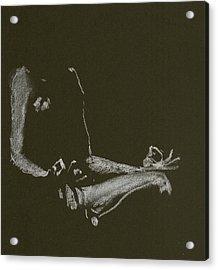Yoga Position Acrylic Print
