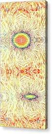 Yonic Rainbow Acrylic Print