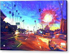 York At Figueroa, Highland Park Acrylic Print