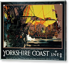 �yorkshire Coast�, Lner Poster Acrylic Print