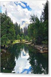 Yosemite Classical View Acrylic Print