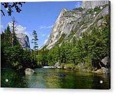 Yosemite Mirror Lake, Lower Pool Acrylic Print