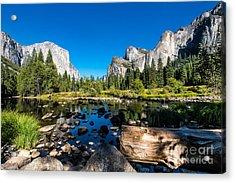 Yosemite National Park, Mountains And Acrylic Print