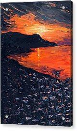 You Make The Sunset Shout For Joy Acrylic Print
