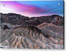 Zabriskie Sunrise Acrylic Print