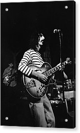 Zappa & The Mothers On Stage Acrylic Print by Fred W. McDarrah