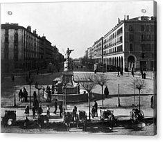 Zaragoza Fountain Acrylic Print by Hulton Archive