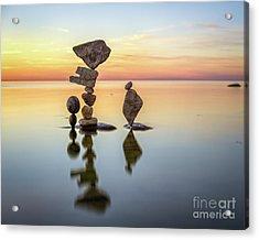 Zen Art Acrylic Print