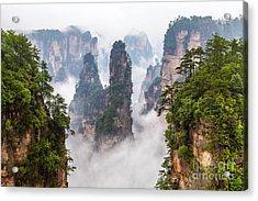 Zhangjiajie National Park In China Acrylic Print