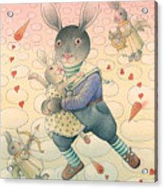 Rabbit Marcus The Great 06 Acrylic Print by Kestutis Kasparavicius