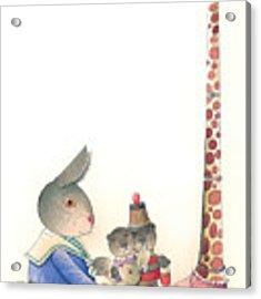 Rabbit Marcus The Great 23 Acrylic Print by Kestutis Kasparavicius