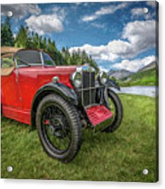 Arriving In Style Acrylic Print by Adrian Evans
