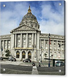 City Hall Acrylic Print by Nancy Ingersoll