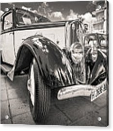 Peugeot 201  Acrylic Print by Gary Gillette