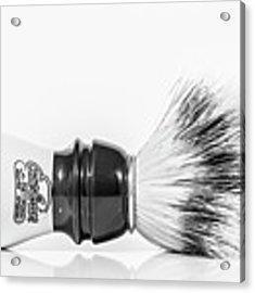 Shaving Brush Acrylic Print by Gary Gillette