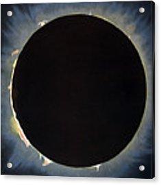 Solar Eclipse, 1860.  Acrylic Print by Granger
