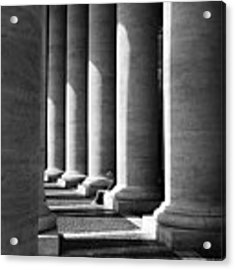 Waiting At St Peters Acrylic Print by Julian Perry