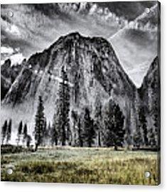 Yosemite Dawn Acrylic Print by Chris Cousins