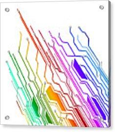 Circuit Board Technology Acrylic Print