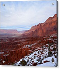 Fisher Towers Acrylic Print by Kate Avery