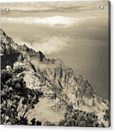 Puu O Kila Lookout, Kauai, Hi Acrylic Print by T Brian Jones