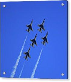 Thunderbirds Upwards Acrylic Print by Raymond Salani III
