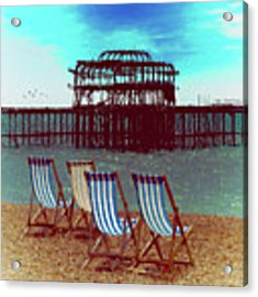 An Ode To Brighton Acrylic Print by Chris Lord