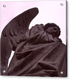 Angel In Repose Acrylic Print by Cynthia Marcopulos
