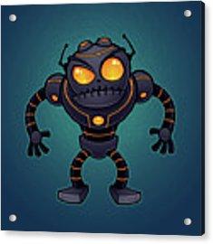 Angry Robot Acrylic Print