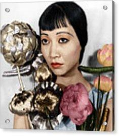 Anna May Wong Acrylic Print by Granger