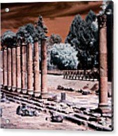 Aquileia, Roman Forum Acrylic Print by Helga Novelli