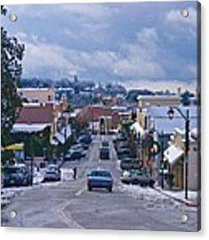 Auburn California Triptych Acrylic Print by Sherri Meyer