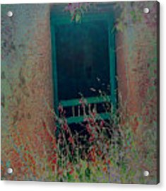 Augustines Door Acrylic Print by Kate Word