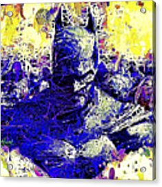 Batman 2 Acrylic Print by Al Matra