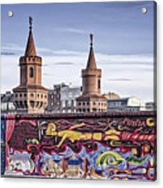 Berlin Wall Acrylic Print by Juergen Held