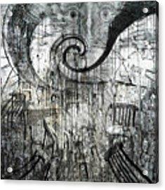 Beware Of Darkness Acrylic Print by Rhonda Strickland