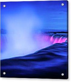 Blue Hour At Niagara Falls Acrylic Print by Kevin McClish